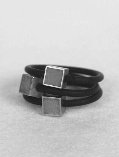 Picture of Fasnion Concrete Ring
